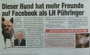 Presse Auftritt Zeitung Heute