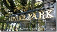 Der Vondelpark in Amsterdam