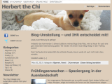 Altes Blog-Design