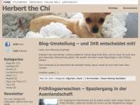 Altes Blog-Design