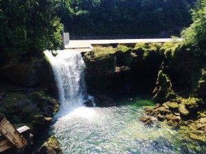 Ausflug Wasserfall Oberösterreich