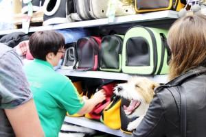 Fressnapf Blogger-Event Hundetaschen